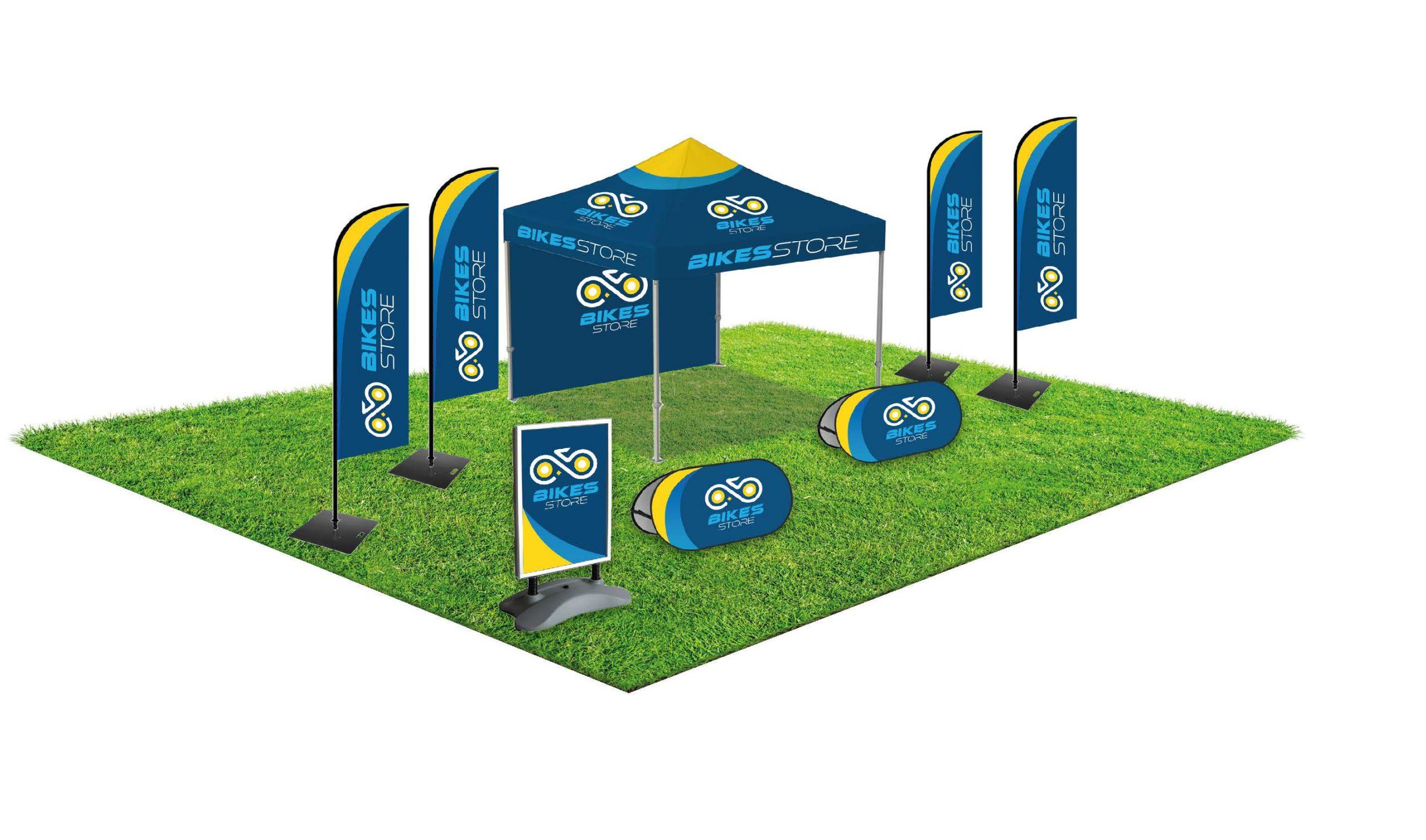 Outdoor Event Kit voor meer merkbeleving